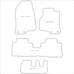 Chevrolet Captiva 7 Seater Car Mats